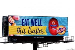 Hatfield Easter Digital Billboard