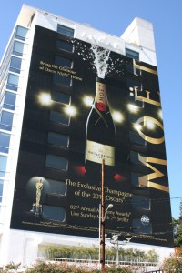moet 2010 oscar billboard